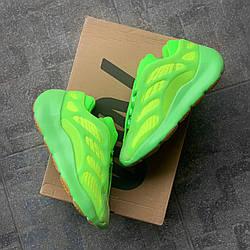 Yeezy 700 V3 Green Azael, кросс, обувь, взуття, sneakers, шузы, Yeezy Boost 700 V3