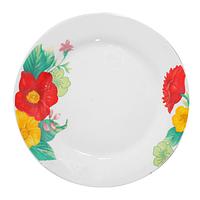 """Тарелка десертная """"Цветы"""" (17,5 см.)"""