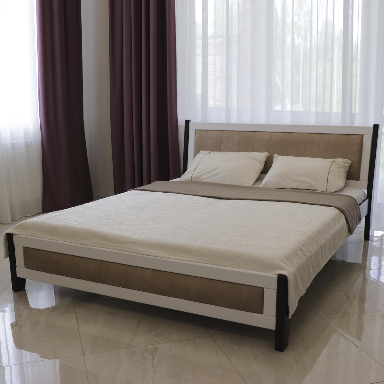 Кровать деревянная двуспальная Магнолия (массив бука)
