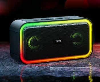 Портативная колонка Mifa F60 black 40 Вт IPX7 Bluetooth 5.0