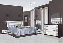 Спальня Бася нова Олімпія 6Д Світ Меблів