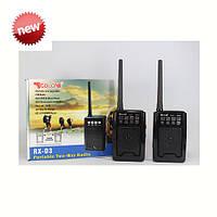 Приемник GOLON RX-D3 USB/SD/АКБ+Рация