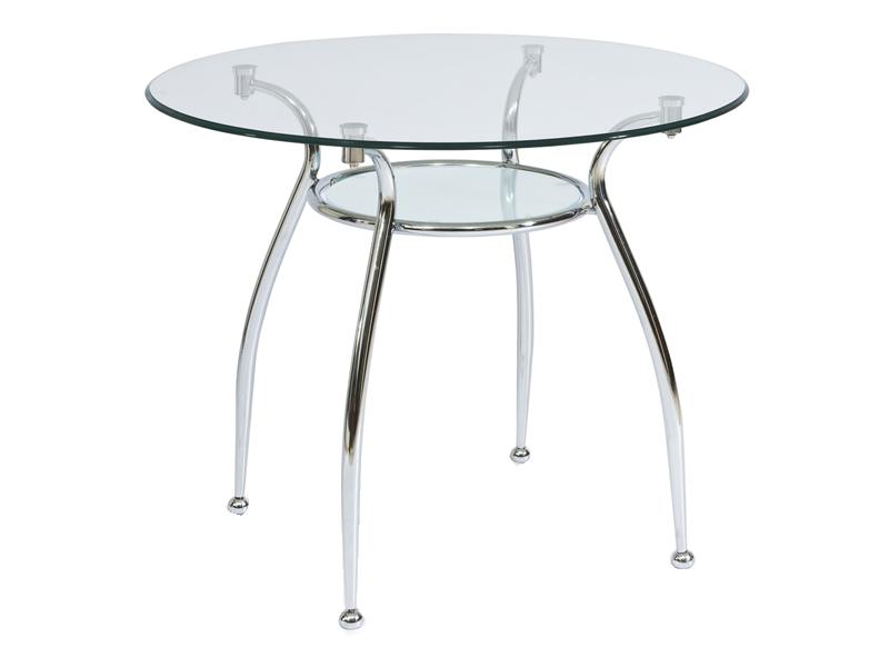 Стол стеклянный Финезия 90x90 Finezja A, фото 1