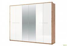Шкаф 6Д с зеркалами Глянец Ники МироМарк