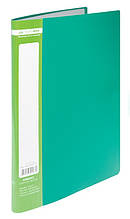 Папка з 10 файлами А4 JOBMAX, зелений