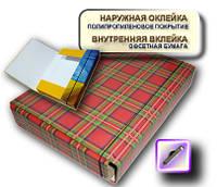 Папка коробка на резинке 60мм А4 PP покрытие