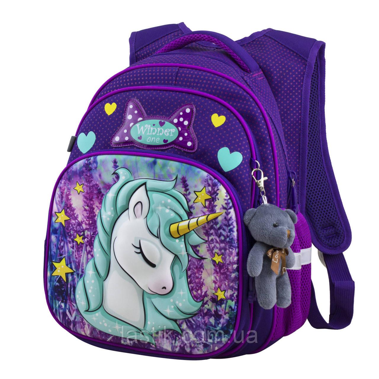 Рюкзак шкільний для дівчаток Winner One R3-222
