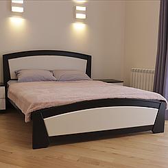 Кровать деревянная полуторная Женева (массив бука)