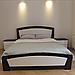 Кровать деревянная полуторная Женева (массив бука), фото 2