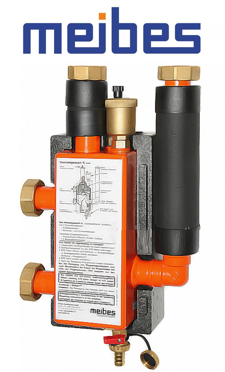 Гидравлическая стрелка МНK 32 (3 м3/год, 85 кВт), DN 32 Meibes