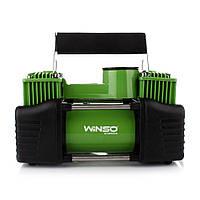 Автомобильный компрессор Winso 125000, автокомпрессор с манометром
