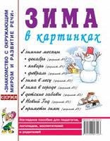 Зима в картинках. Наглядное пособие для педагогов, логопедов, воспитателей и родителей.