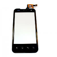 Сенсорный экран для LG P990 Black