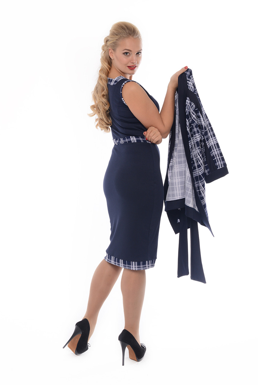 Женский платье костюм или платье 56 размера