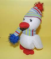 Новогодний утенок  игрушка , необычный подарок ребенку на день рождение