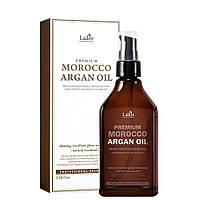 Марокканское натуральное аргановое масло для волос Lador Premium Morocco Argan Oil 100 мл, фото 1