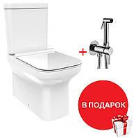 Унитаз-компакт DEVIT City 3010160 с бачком и сиденьям quick-fix, soft-close + Гигиенический душ Paffoni Tweet