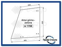 Стекло John Deere - Телескопический погрузчик  - 3200 3215 3220 3400 3415 3420 - дверь верхняя