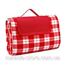 Килимок сумка для пікніка та пляжу 180x150 см підстилка клітка, фото 3