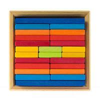 Конструктор nic деревянный Разноцветная пластина (NIC523346)