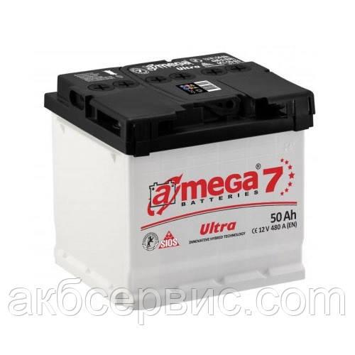 Акумулятор автомобільний A-mega 6СТ-50 Аз Ultra