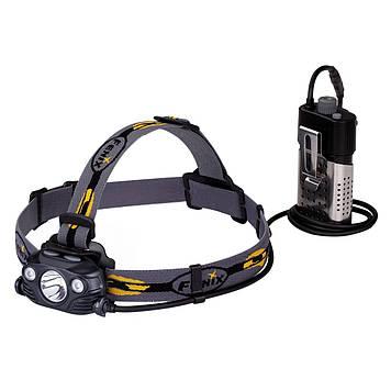 Ліхтар налобний Fenix HP30R Черный