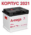 Акумулятор автомобільний A-mega 6СТ-50 Аз Ultra, фото 2