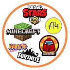 Brawl Stars, Влад А4, Among Us, Roblox, Fortnite, Гаррі Поттер, Minecraft, слайм, Orbeez