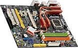 ТОПОВА Плата S775 MSI P35 PLATINUM ( MS-7345) на P35 SLI з 4ма PCI-EXPR Розуміє ВСІ 2-4 ЯДРА ПРОЦЫ XEON,QUAD, фото 2