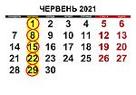 Графік обжарювання кави ЧЕРВЕНЬ 2021