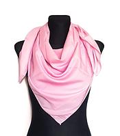 Легка однокольорова хустка Eripek Мерілін 95*95 см рожевий