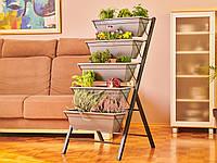 Вертикальная подставка с ящиками Grow Delimano, фото 1