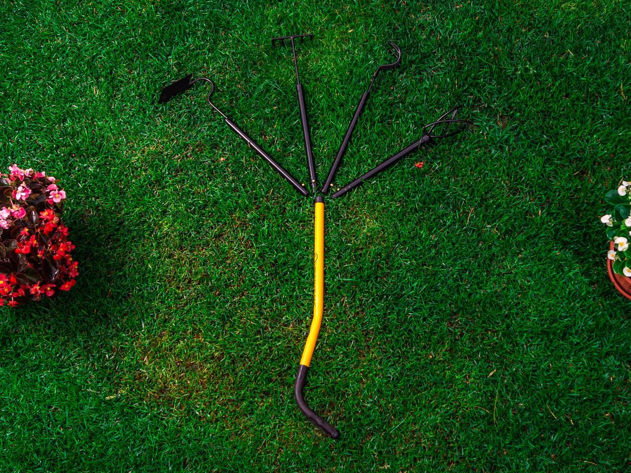 Набор из 4 садовых инструментов Tornadica Delimano