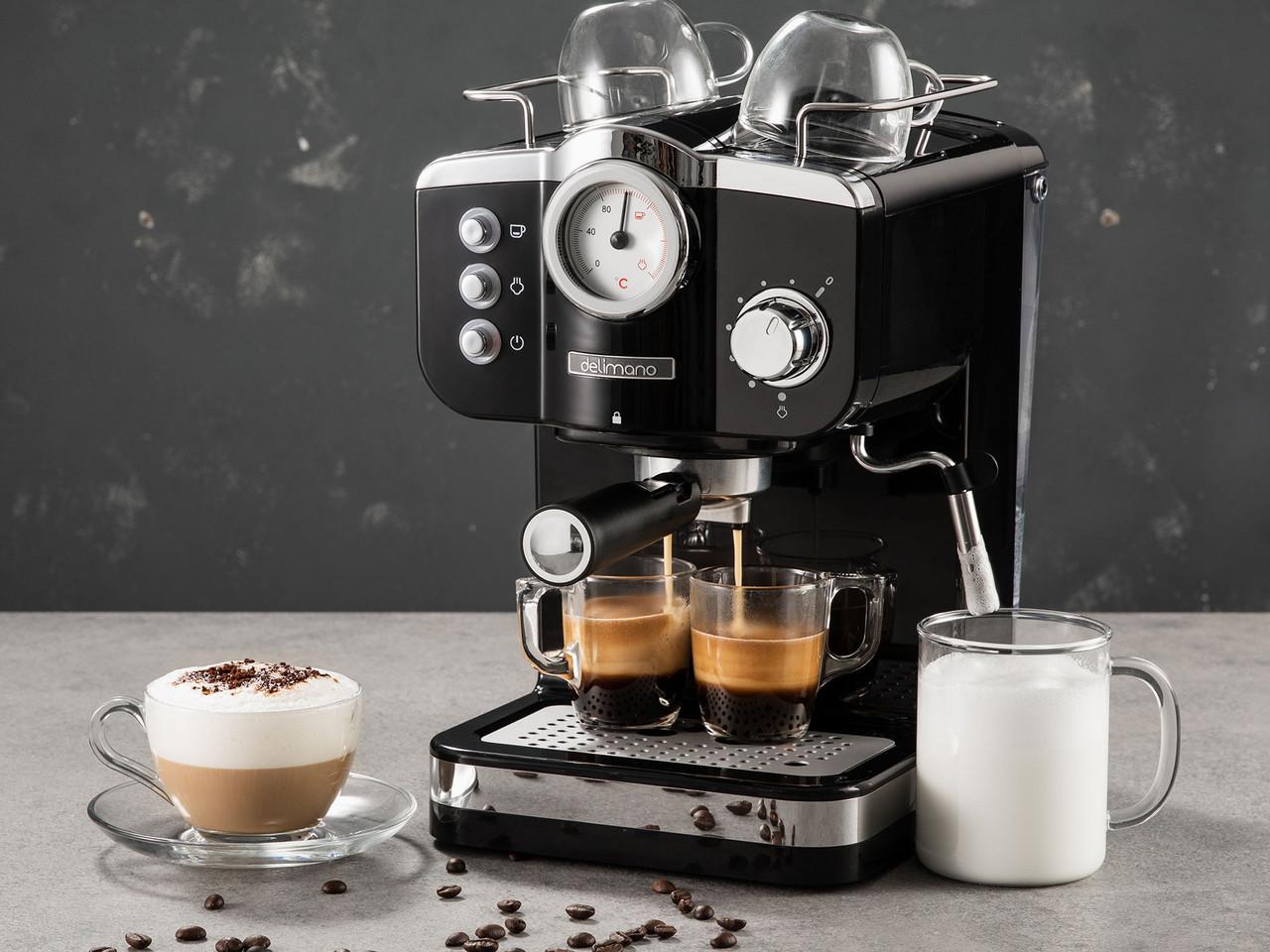 Кавоварка Espresso Deluxe Noir Delimano