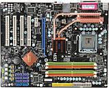 ТОПОВА Плата S775 MSI P45 NEO3 SLI Розуміє ВСІ 2-4 ЯДРА ПРОЦЫ INTEL XEON,Core2QUAD, DUO, фото 2