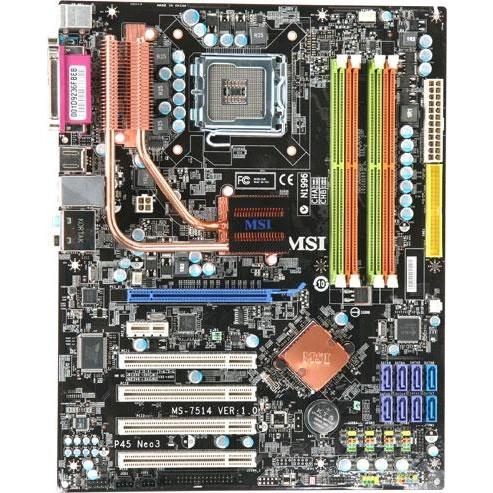 ТОПОВА Плата S775 MSI P45 NEO3 SLI Розуміє ВСІ 2-4 ЯДРА ПРОЦЫ INTEL XEON,Core2QUAD, DUO