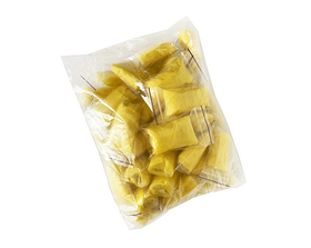 Трусы стринги женские одноразовые желтые 50шт