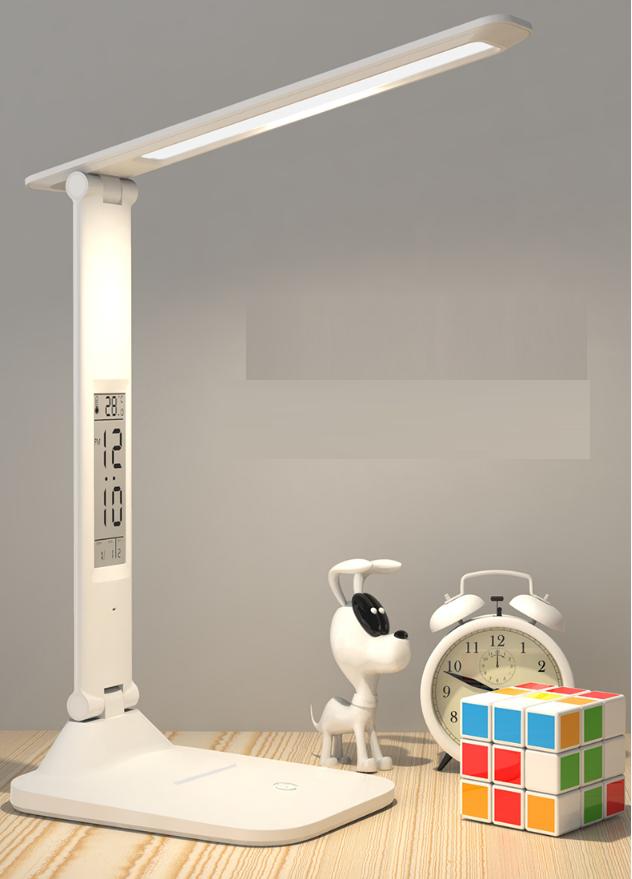 Лампа настільна LED 3 режими (+ годинник, календар, термометр)