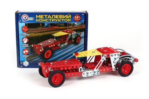 """Дитячий іграшковий металевий конструктор """"Хід-Рід"""", 241 дет 4906"""