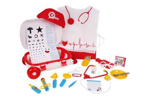 Детский набор доктора с халатом и шапочкой, 4319