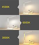 Лампа настільна LED 3 режими (+ годинник, календар, термометр), фото 4
