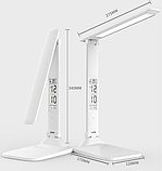 Лампа настільна LED 3 режими (+ годинник, календар, термометр), фото 2