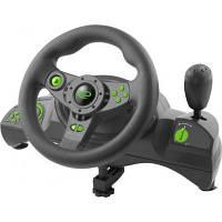 Кермо Esperanza PC/PS3 Black-Green (EGW102)