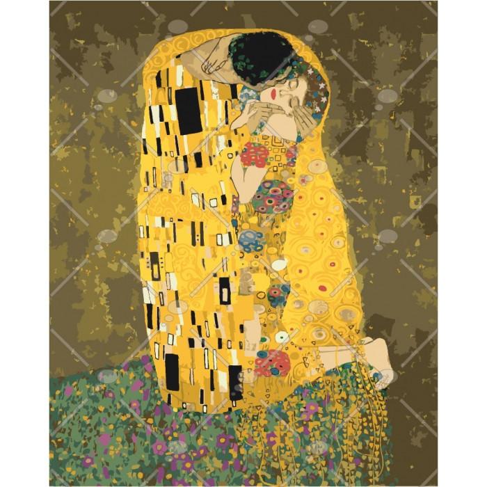 """Картина за номерами """"Аура поцілунку 2. Густав Клімт"""" Ідейка"""