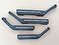 Подлокотники дверей ВАЗ 2103, 2106 мягкие (хром молдинг)