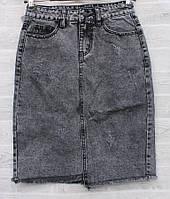 """Спідниця жіноча джинсова на блискавці, розміри 30-38 """"RELUCKY"""" купити недорого від прямого постачальника"""