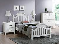 Ліжко дерев'яне Lizbona Singal 90*200 / Кровать деревянная Lizbona Signal 90х200