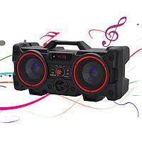 Портативний Бумбокс колонка Leisound VS 528 partybox c радіомікрофоном