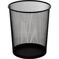 Корзина для бумаг BUROMAX Wire mesh, black 15 л (BM.6270-01)