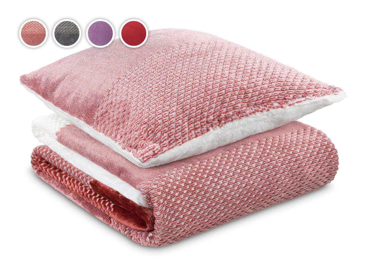 Набір подушка і ковдра Теплі обійми 2020 Dormeo